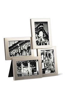 UMBRA Lira multi picture frame nickle