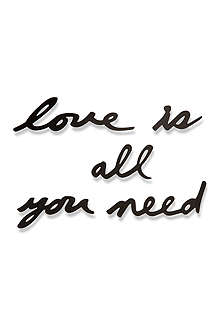 UMBRA Love is All You Need wall decoration