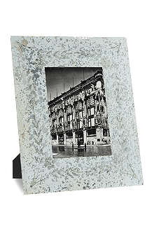 NKUKU Antique mirrored photo frame 5x7