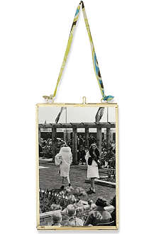 NKUKU Kiko brass antique photo frame 4x6
