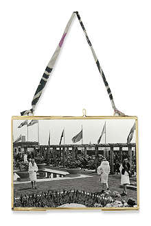 NKUKU Kiko brass antique photo frame 5x7