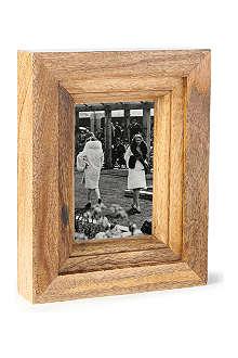 """NKUKU Mango wood photo frame 6x4"""""""