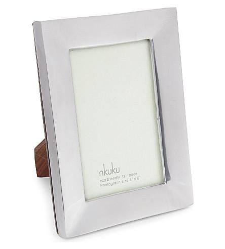 NKUKU Recycled aluminium photo frame 4