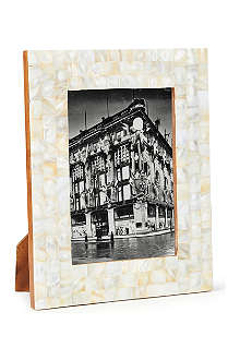 NKUKU Mother of pearl photo frame 5x7""
