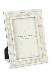 BASKERVILLE AND SANDERS Mother of pearl photo frame 4