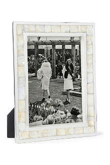 BASKERVILLE AND SANDERS Mother of pearl photo frame 7