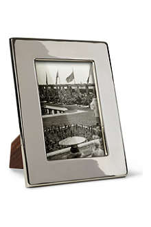 BASKERVILLE AND SANDERS Silver-plated classic photo frame 5