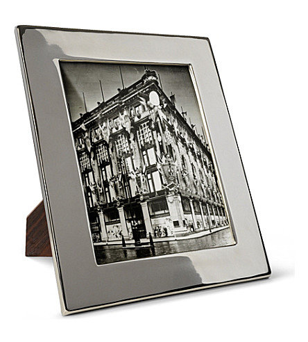 BASKERVILLE AND SANDERS Silver plated classic frame