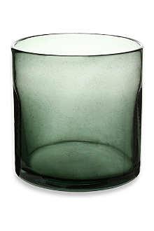 HENRY DEAN Cylinder smoke vase