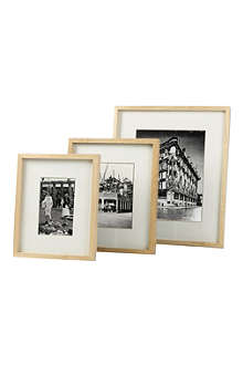 SIX TREES Hanover natural wood frame 5