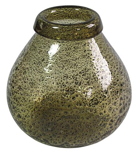 ABIGAIL AHERN Bourne dimpled glass vase medium