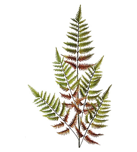 ABIGAIL AHERN Autumn fern faux flower