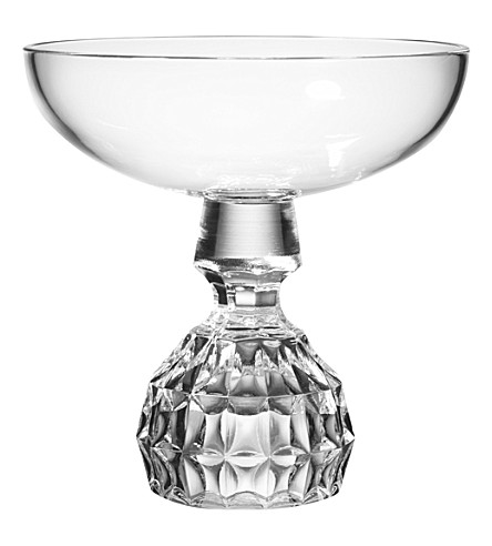 LEE BROOM Half Cut champagne coupe