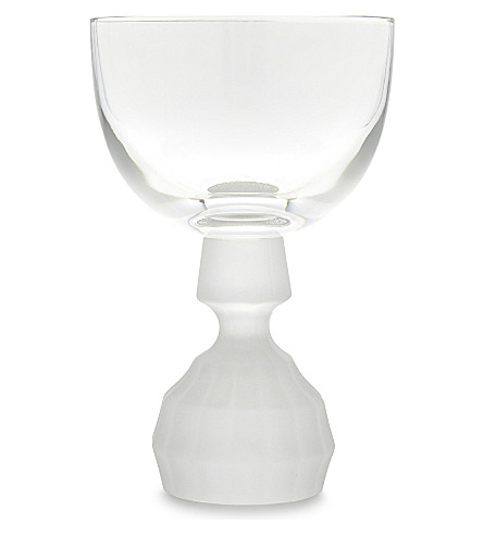 LEE BROOM Half Cut wine glass