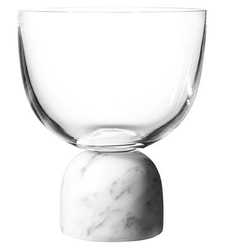 LEE BROOM On The Rock Wine Glass