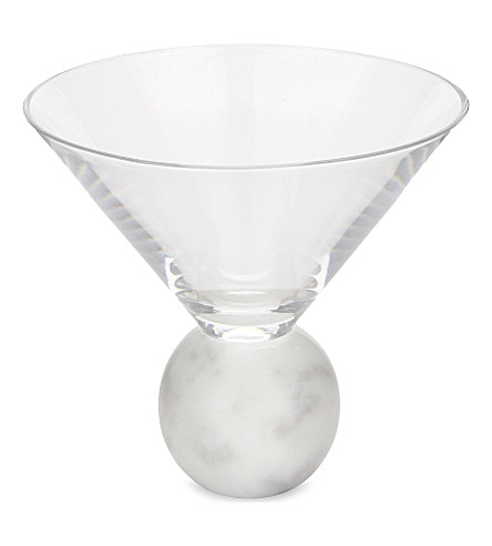 LEE BROOM On the Rock martini glass