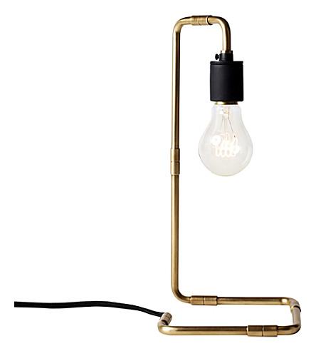 MENU Reade brass table lamp 34cm