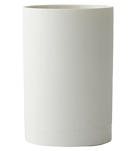 MENU Cylindrical small ceramic vase