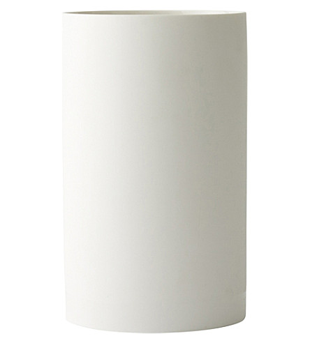MENU Cylindrical large ceramic vase