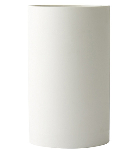 MENU Large cylindrical ceramic planter 16cm