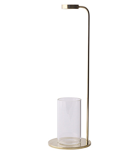 MENU Stem brass vase