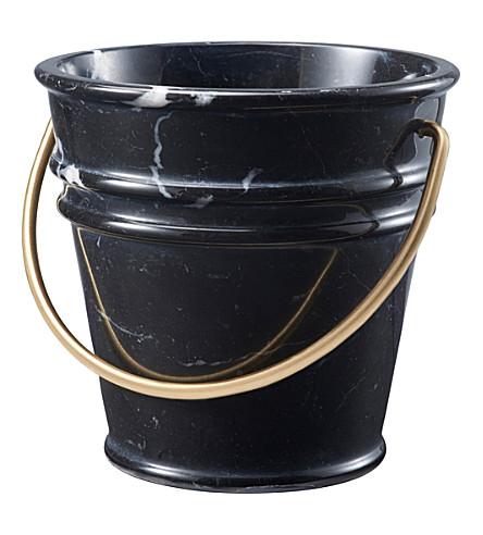 EDITIONS MILANO Ice Ice Baby marble ice bucket