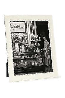 ADDISON ROSS LONDON Cream enamel and diamante photo frame 8