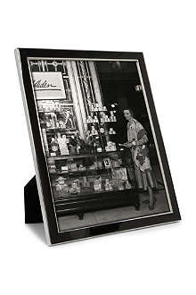 ADDISON ROSS LONDON Enamel black photo frame 8