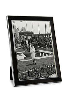 ADDISON ROSS LONDON Enamel black photo frame 5