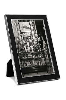 ADDISON ROSS LONDON Enamel black photo frame 4