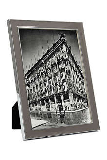 ADDISON ROSS LONDON Enamel taupe photo frame 5