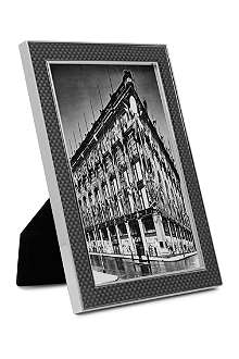 ADDISON ROSS LONDON Carbon fibre grey photo frame 4