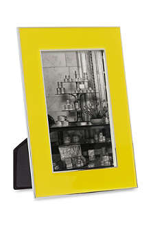 ADDISON ROSS LONDON Neon yellow photo frame 4