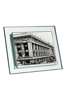 "ADDISON ROSS LONDON Mirrored glass frame 5""x7"""