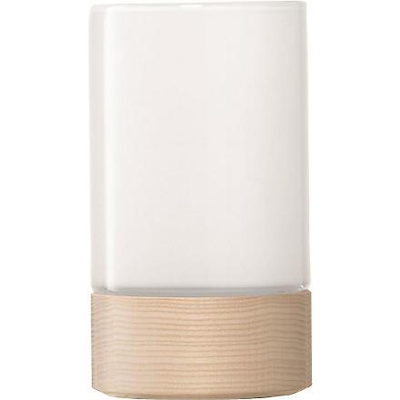 LSA Lotta vase white 23cm