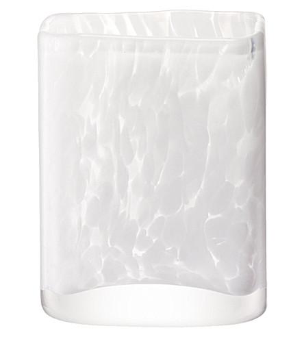 LSA Stone vase 15cm