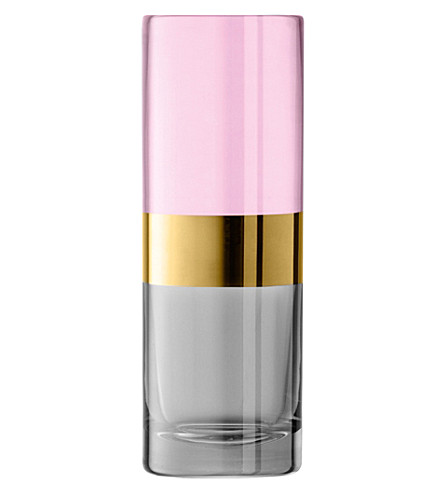 LSA Bangle glass vase