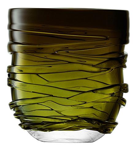 LSA Yarn glass vase