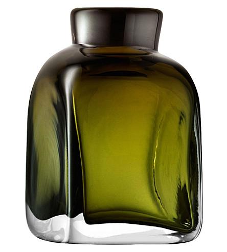 LSA Taffeta glass vase