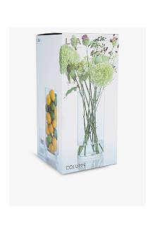 LSA Column vase 36cm