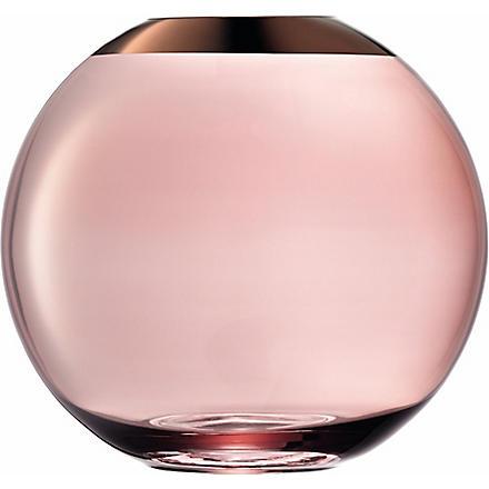 LSA Remi copper vase 20cm