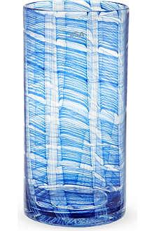 LSA Linen glass vase