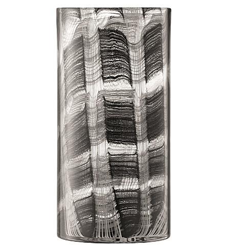 LSA Linen vase 32cm