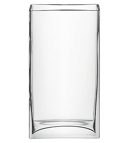 LSA Rectangular vase 32cm