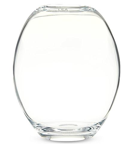 LSA Molten vase 28cm