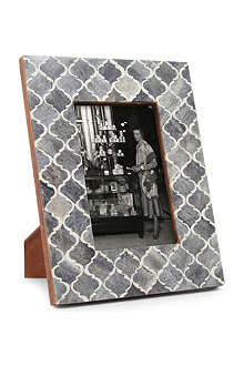 BRIGHT IDEAS Grey bone photo frame 4