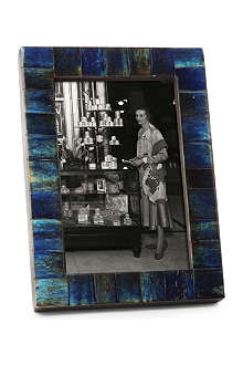 BRIGHT IDEAS Blue bone photo frame 4