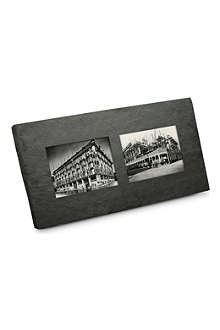 "BRIGHT IDEAS 7"" x 5"" double slate frame"