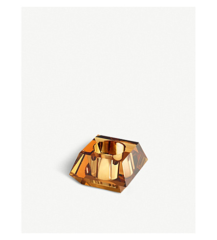 SWAROVSKI Lumen square crystal candleholder