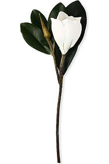 SIA HOME FASHION Magnolia stem in white 43cm